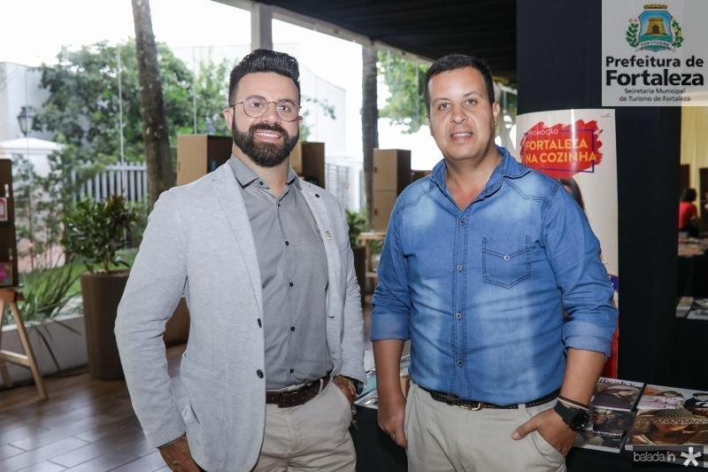 Samuel Ramos e Rafael Gazulo