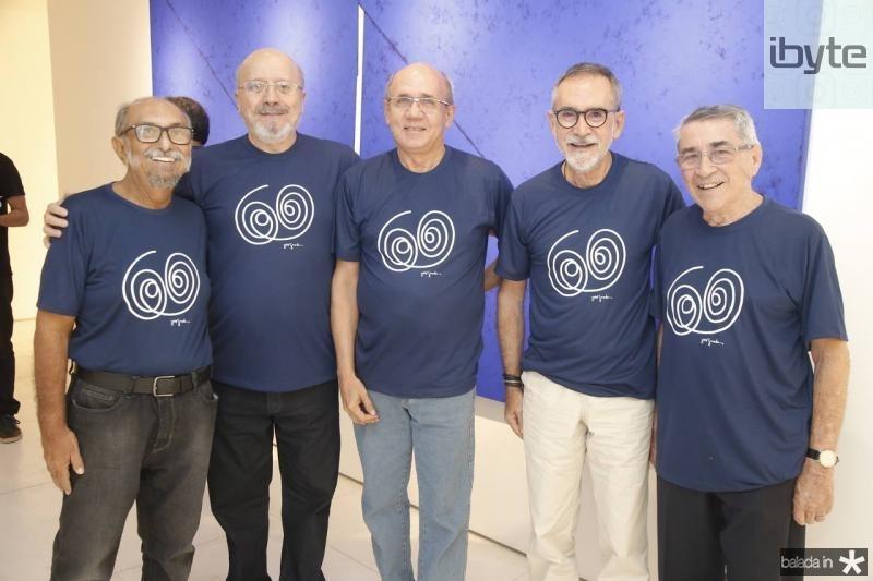 Roberto Galvao, Jose Mesquita, Vicente Barroso, Ricardo Rodrigues e Delbergue Ponce de Leon