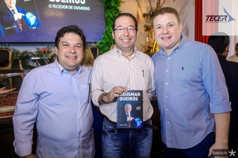 Chico Vale, Demontie Linhares e Rodrigo Oliveira