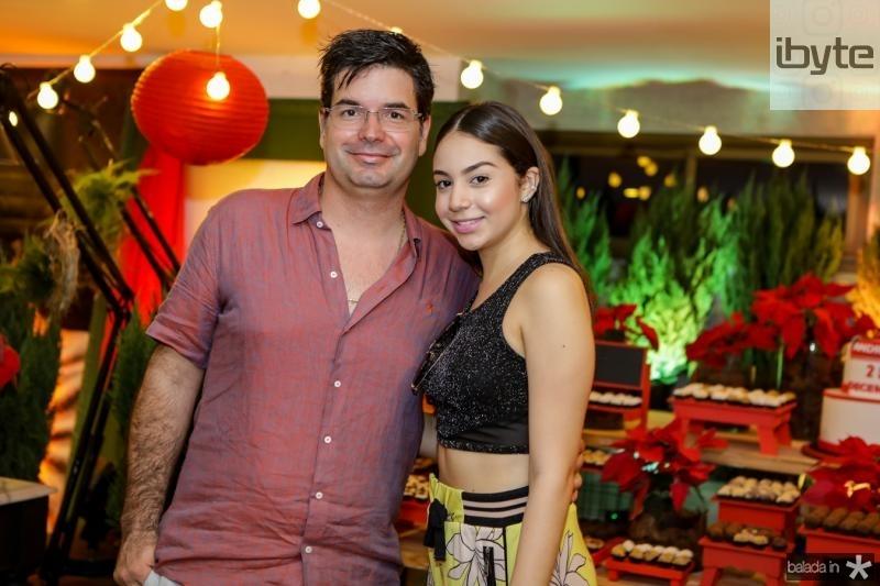 Andre Pires e Alana Teixeira