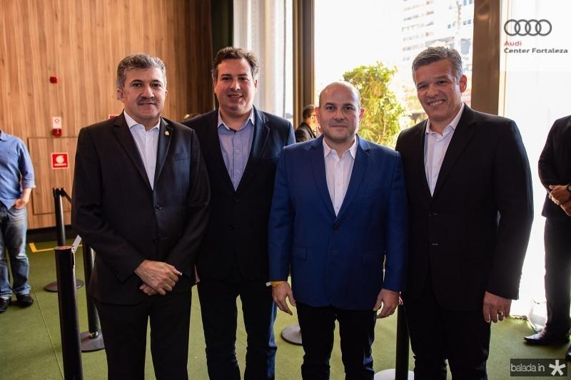 Antonio Henrique, Samuel Dias, Roberto Claudio e Ferruccio Feitosa
