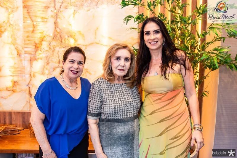 Lucia Carioca, Mearylene Barbosa e Luciana Carioca