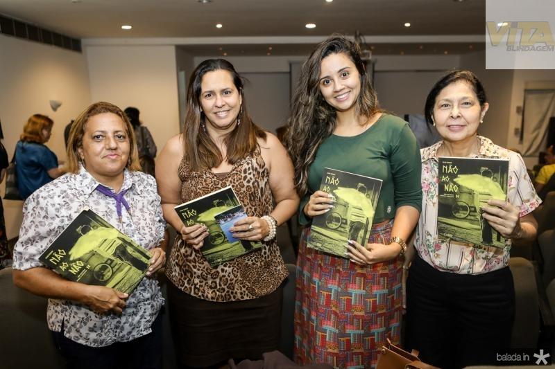 Ana Mascarenhas, Marley Uchoa, Monisa Florentino e Francineide Chaves