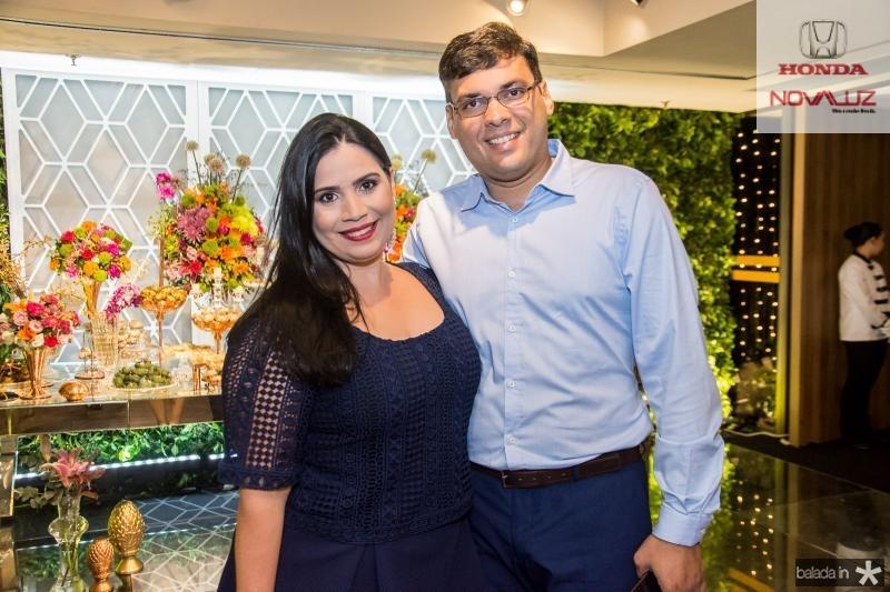 Cristina e Marcelo Rocha Lima