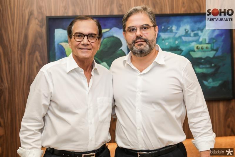 Beto Studart e Edson Queiroz Neto