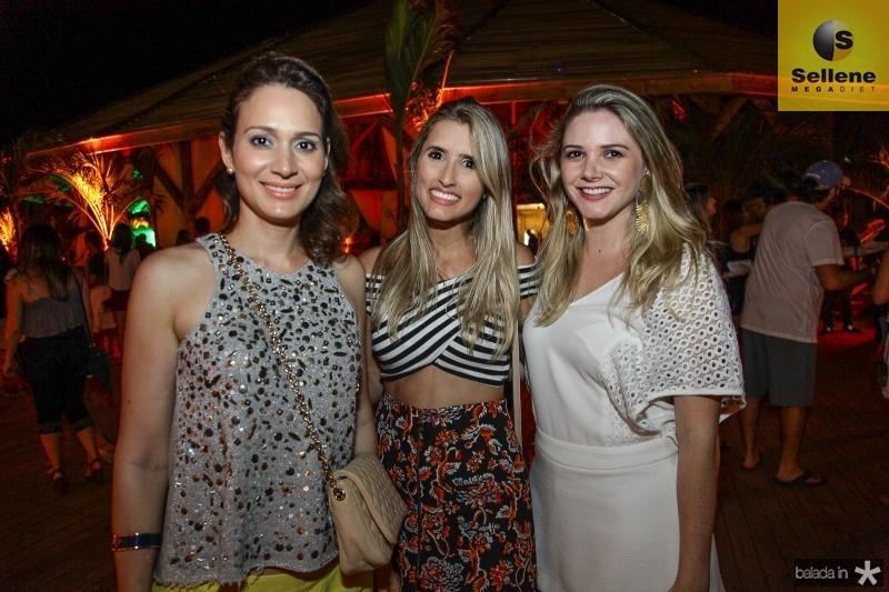 Juliana Gurgel, Ticiana Girão e Vanessa Maia