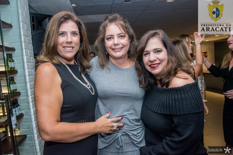 Nara Amaral, Claudia Gradvohl e Martinha Assuncao