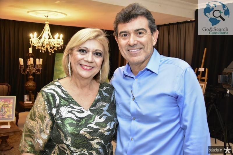Priscila Cavalcanti e Alexandre Pereira