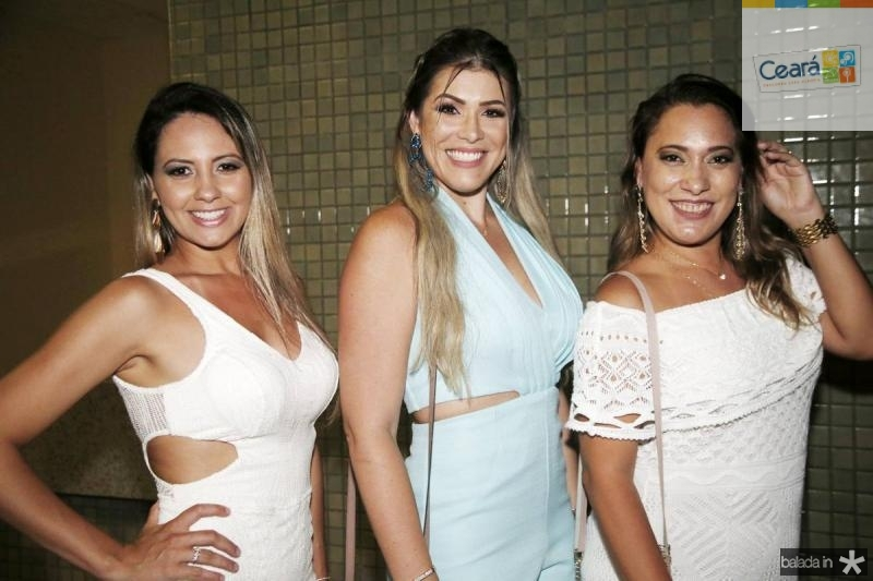 Thais Moreno, Maria Luiza e Dirce Alessandra