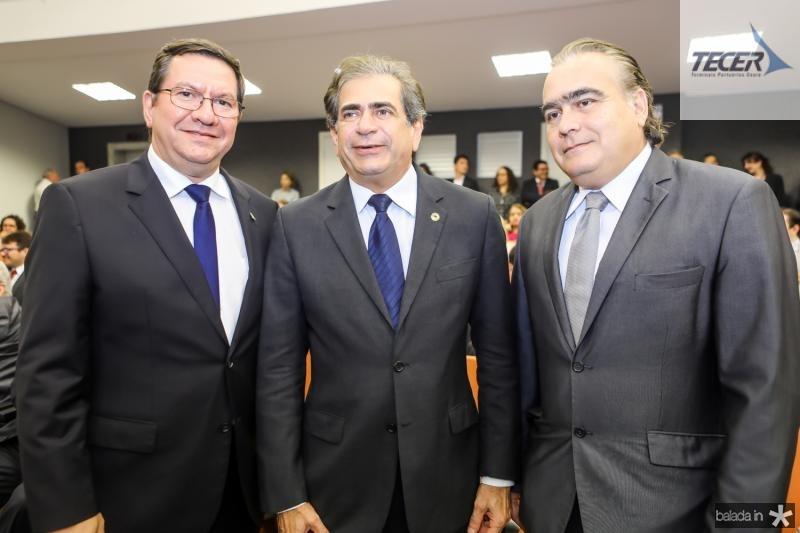 Lucio Ferreira Gomes, Zezinho Albuquerque e Helio Parente