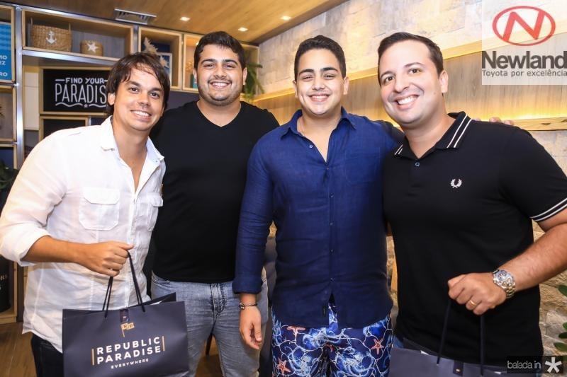 Artur Matos, Vitor e Rafael Pinto, Rodrigo Ponte