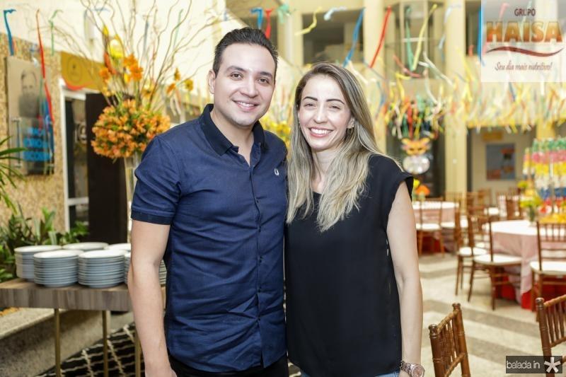 Anderson Marques e Taiana Braga