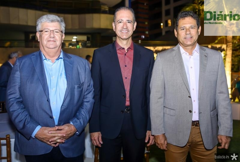 Carlos Maia, Regis e Marcus Medeiros