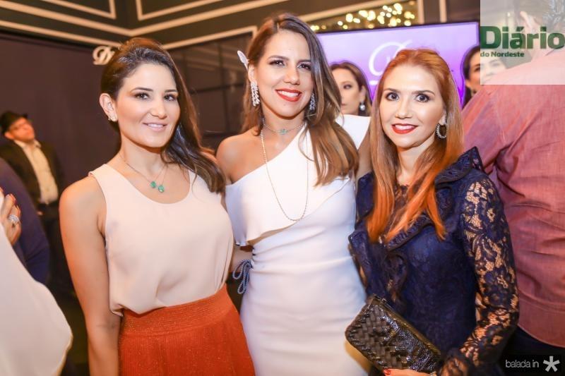 Aline Pinho, Ana Carolina Fontenele e Weine Moreira