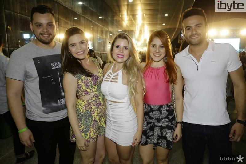 Matheus Albuquerque, Nayana Cavalcante, Aline Pinheiro, Mireli Dantas e Joacy Fonseca