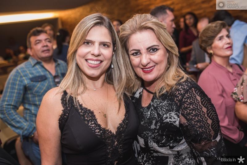 Aline Albuquerque e Aronilza Ponde