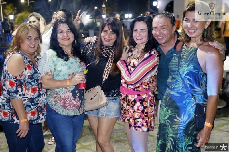 Jaqueline Marie, Monica Quindere, Silvia Chacon, Ieda Cavalcante, Werner Rolim e Jacqueline de Deus