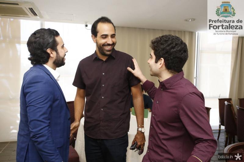 Rodrigo Nobrega, Danilo Lobo e Guilherme Sabadia