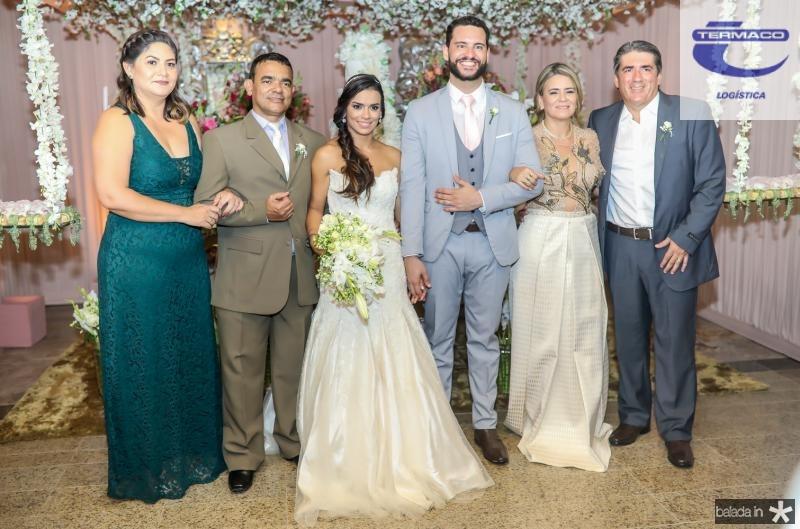 Jariene Laine, Civaldo Sousa, Veruska e Tiago Lobo, Valdira Silva