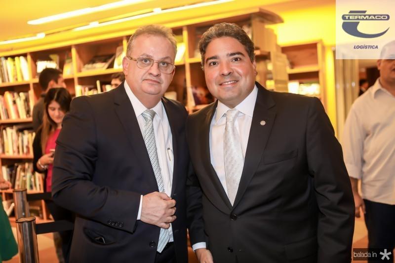 Fernandes Neto e Leandro Vasquez