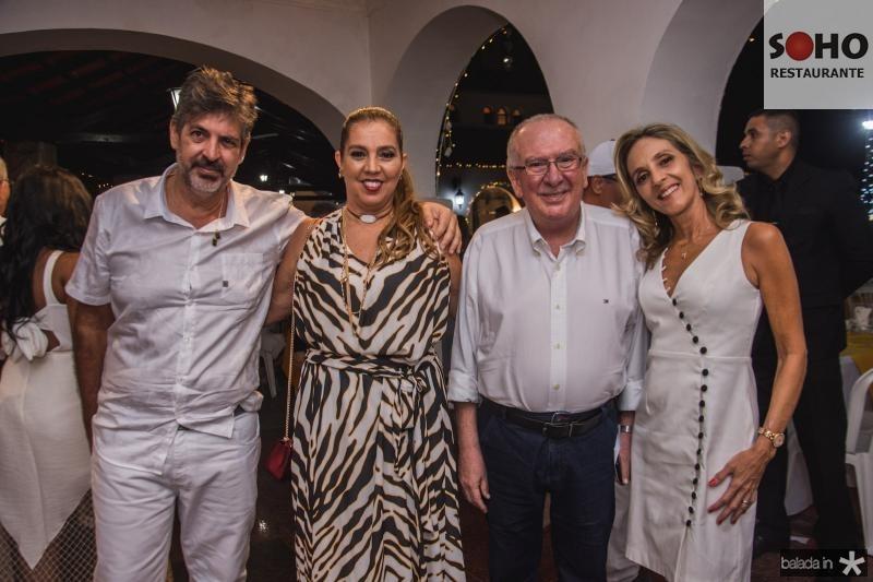 Carlos Mendonca, Gionisia Viana, Valmir Pontes e Eunir Pontes