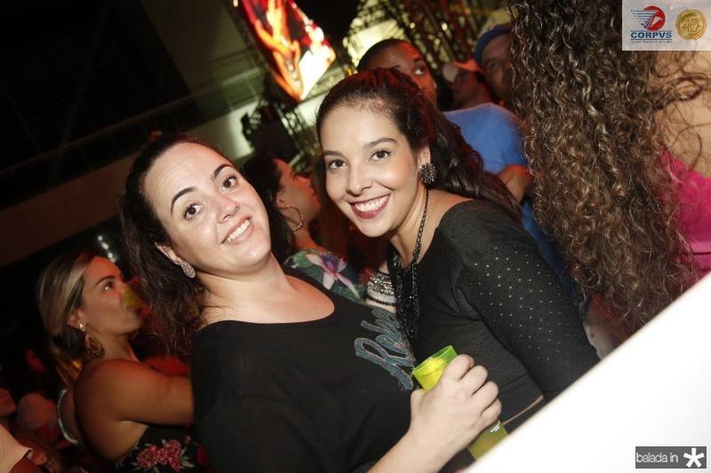 Aniele Pinto e Brena Varela