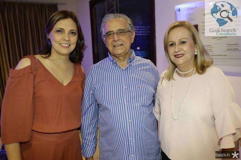 Soraia Sobreira, Luciano e Vera Bezerra
