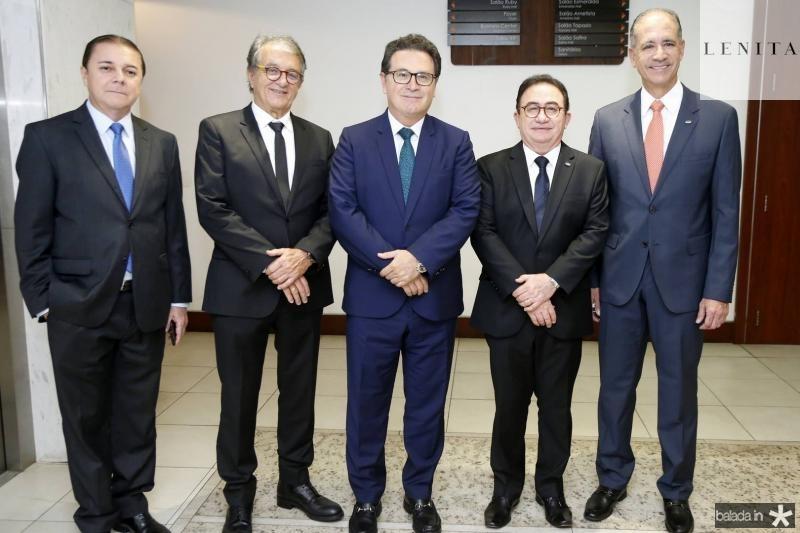 Eliseu Barros, Arialdo Pinho, Vinicius Lummertz, Manoel Linhares e Regis Medeiros