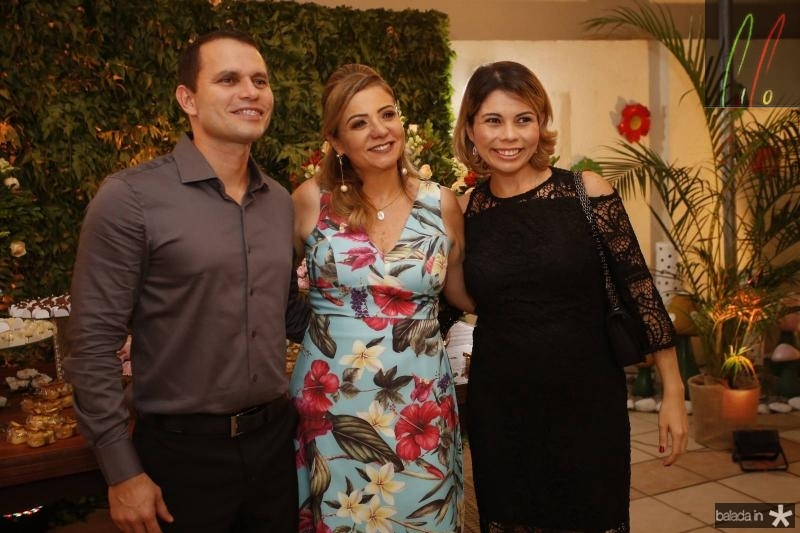 Wagner Sampaio, Simone Cardoso e Renata Amaral