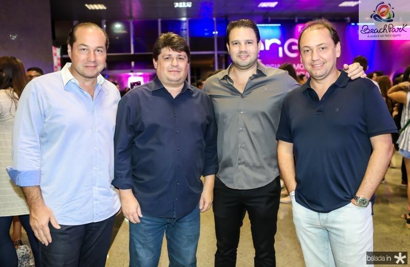 Joaquim Araujo, George Lima, Leo Couto e Ariston Pessoa
