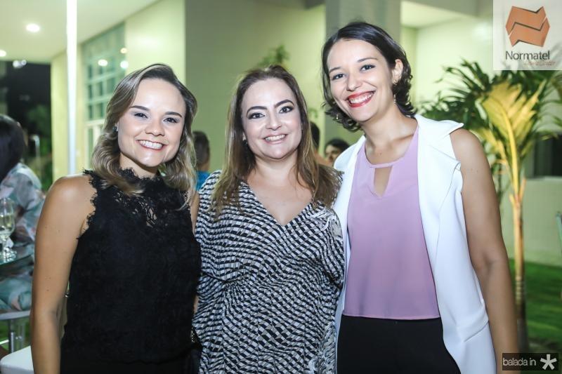 Marcela Carvalho, Andrea Coelho e Giselle Soares