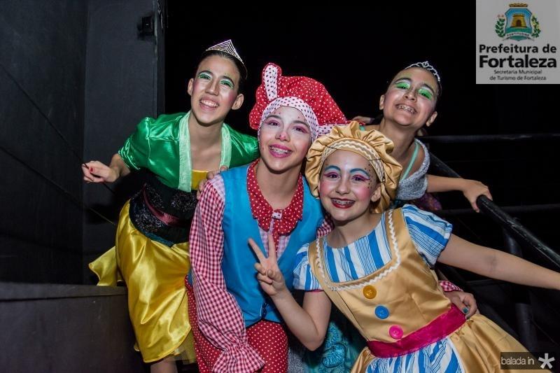 Beatriz Cajado, Sofia Dias, Luiza Vasconcelos e Paola Mota