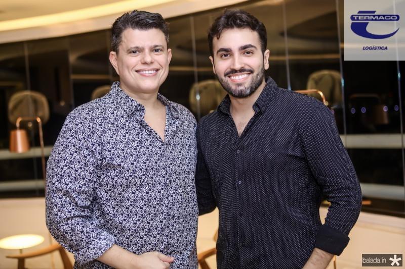 Abelardo Targino e Fernando Costa