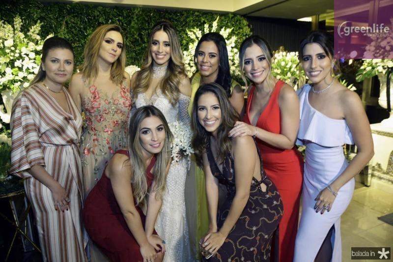 Yane Bezerra, Vanessa Custodio, Mariane Melo, Nathalia Ximenes, Rebeca Parente, Ana Mourao, Mikaela Botura e Tayra Romcy