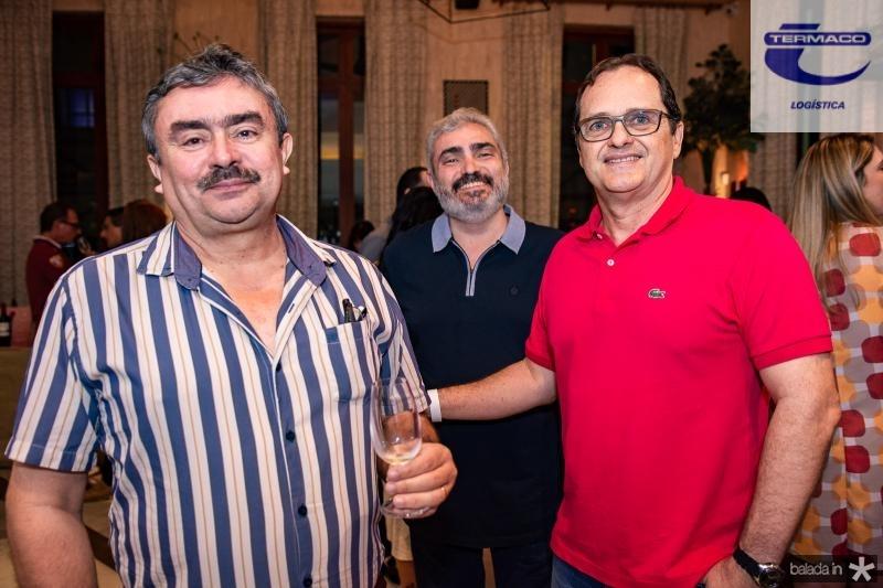 Alvaro Maia, Sergio Marques e Alexandre Fialho
