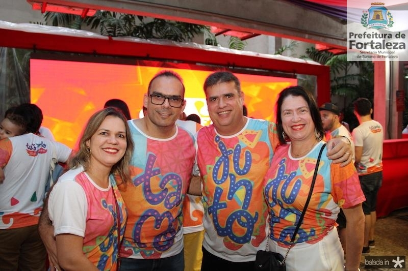 Renata e Paulo Dantas, Arthur Salgado e Virna