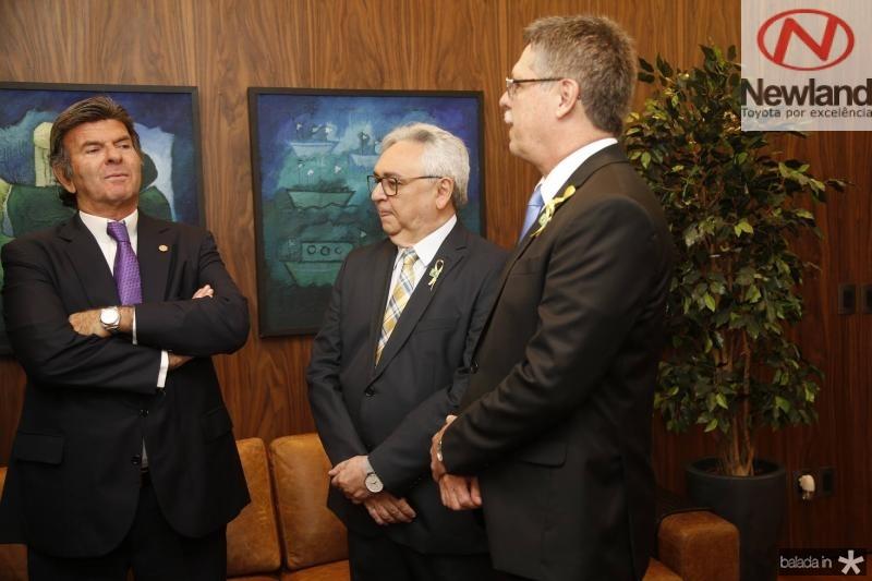Luiz Fux, Paulo Albuquerque e Carlos Gama