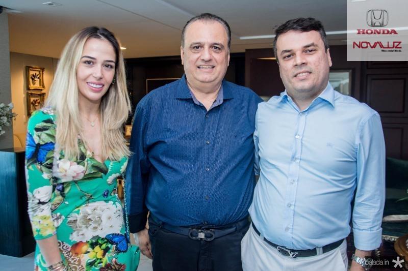 Ingrid Freire, Max Câmara e Marcos Freire