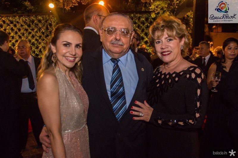 Adriana Queiroz, Sergio Gomes de Matos e Rosa Gomes de Matos