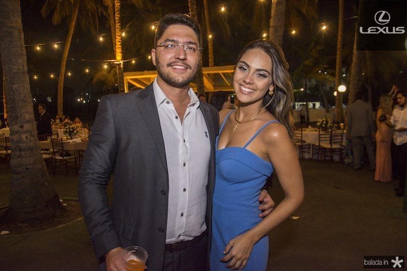 Rafael Viana e Mariana Frota