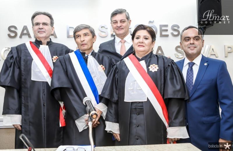 Emanoel Furtado, Plauto Porto, Cid Marconi, Regina Nepomuceno e Marcelo Mota