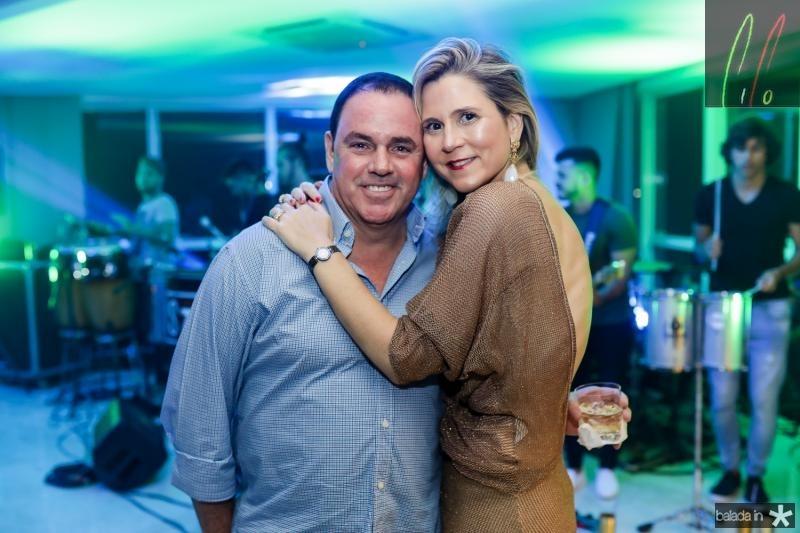 Marcelo e Camille Cidrão