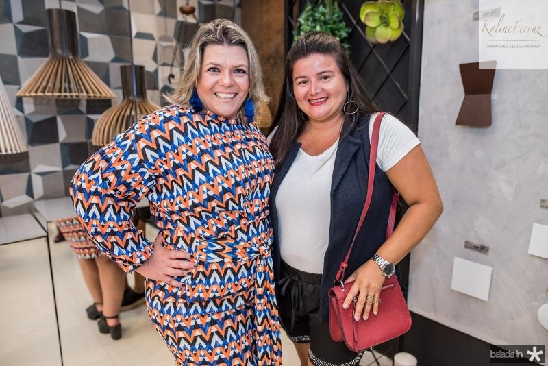 Giselle Martos e Eveline Teixeira