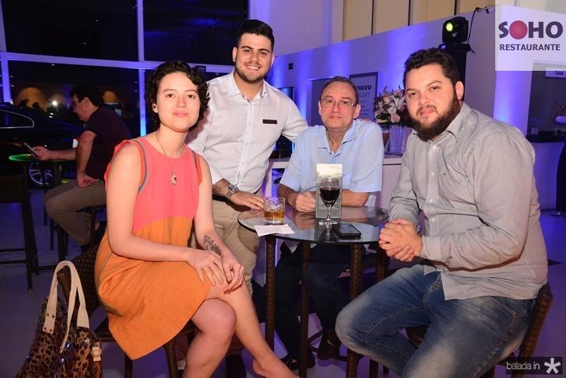 Nadia Pontes, Pedro Ximenes, Fabio Pontes e Samuel Apolonio
