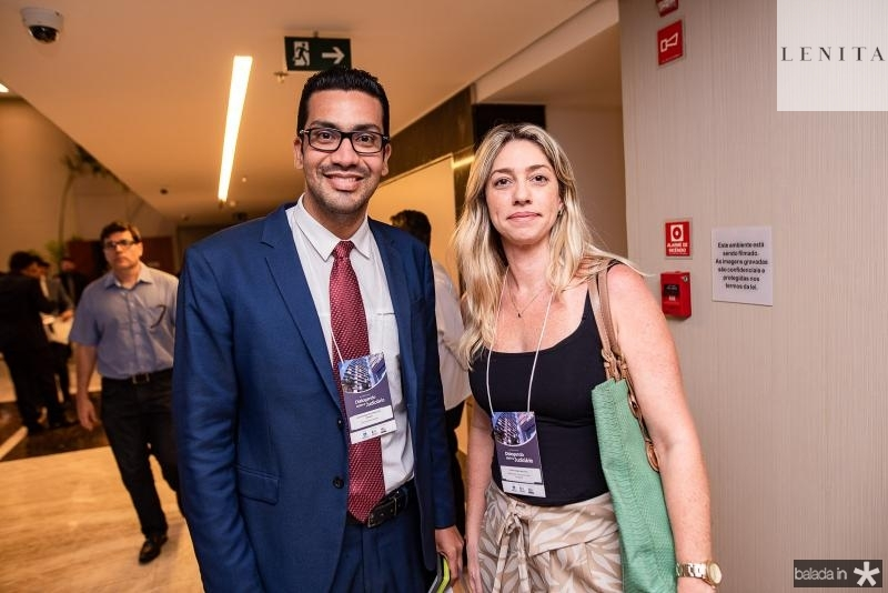 Joao henrique Sampaio e Luciana Gurgel