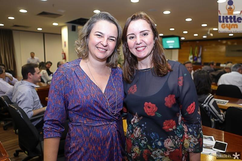 Kelly Whuithust e Nicolle Barbosa