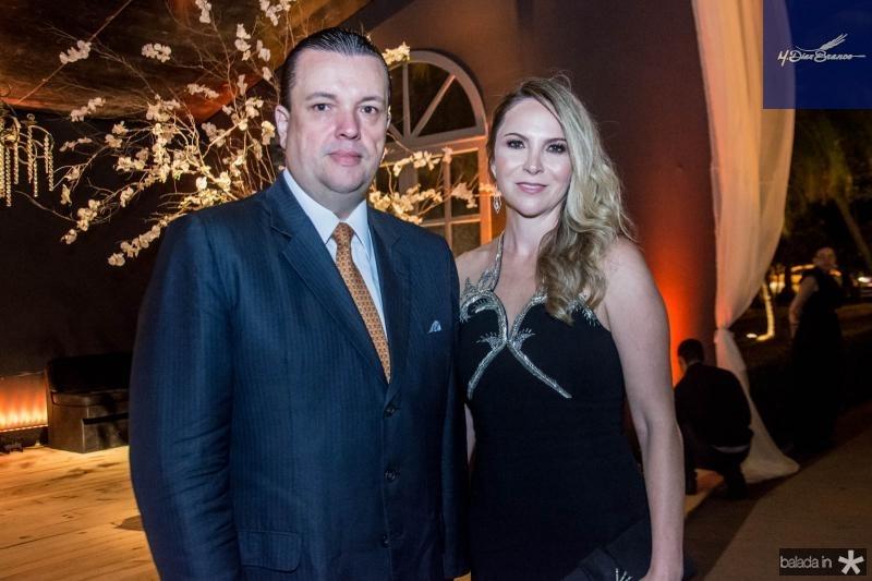 Tiberio e Lara Cavalcante