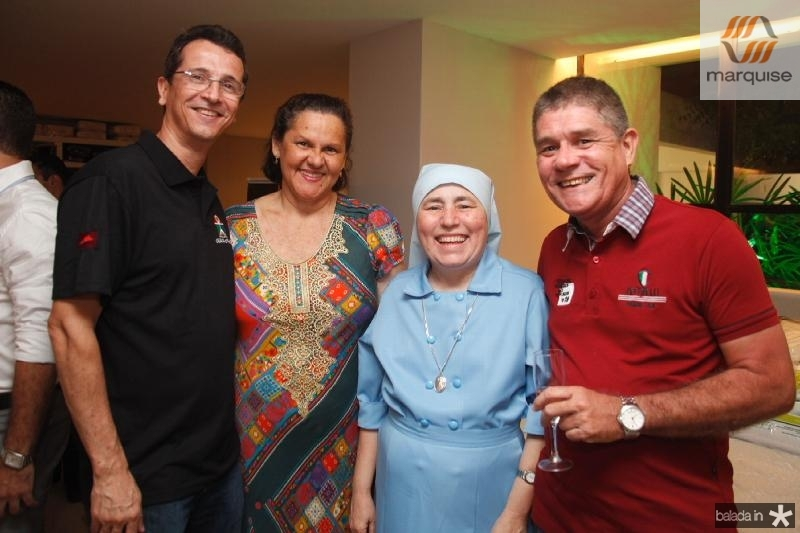 Augusto Sousa,Sandra Barbosa,Irmã Conceição e Afonso Caldas