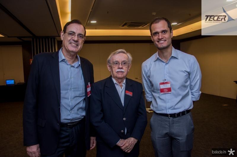 Urbano Costa Lima, Raimundo Padilha e Enio Leao