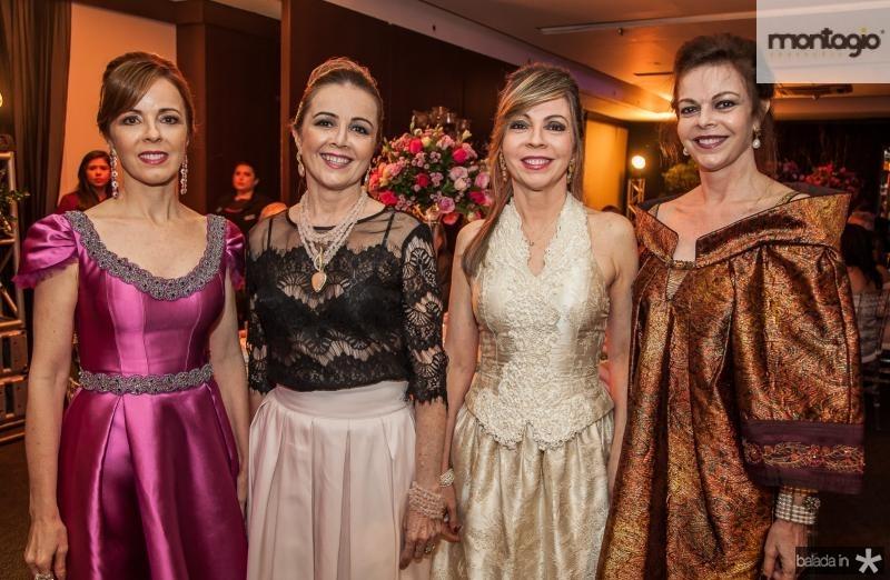 Karisia Pontes, Valeria Andrade, Venusia Ribeiro e Glaucia Andrade
